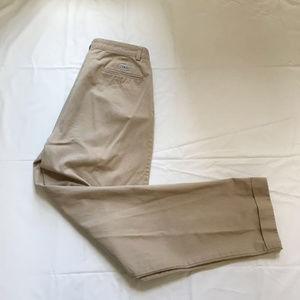 Ralph Lauren Polo Chino Pants Pleated Casual Sz 34